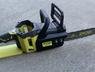 """40V Ryobi Cordless 14"""" Chain Saw (Tool Only) for Sale in Suwanee,  GA"""