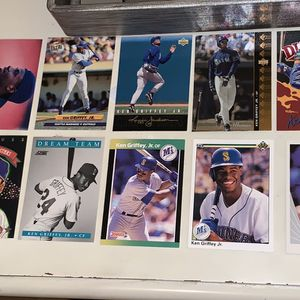 26 Ken Griffey Jr. Baseball Cards for Sale in Los Angeles, CA