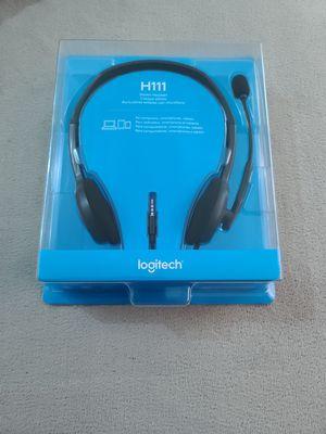 Logitech Stereo Headset H111 Brand New for Sale in Hillsboro, OR