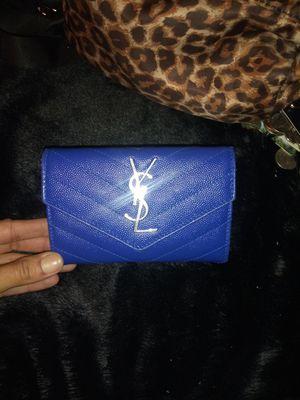 YSL Monogram small envelope wallet for Sale in Garden Grove, CA
