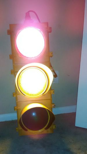 Vintage Traffic Light Lamp for Sale in Houston, TX