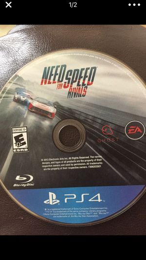 Need For Speed Ps4 Game for Sale in Gaithersburg, MD