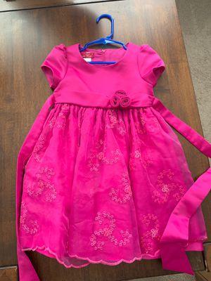 Girl's Fuchsia Dress 3T for Sale in Fort Leonard Wood, MO