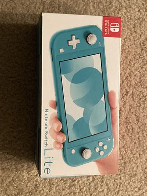 Nintendo Switch Lite (Turquoise) for Sale in Irvine, CA