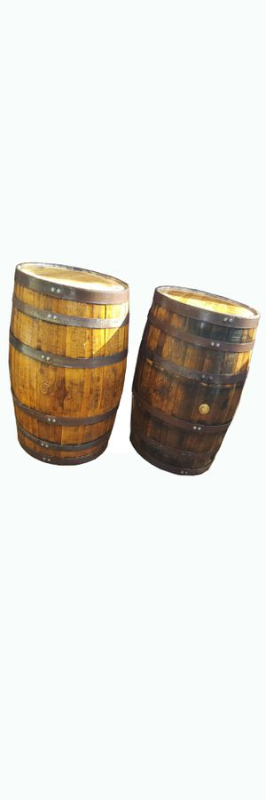 Antique whiskey wine wood barrel 4r dec○ restaurant sports bar smoke shop tiki bar patio furniture for Sale in Miami, FL