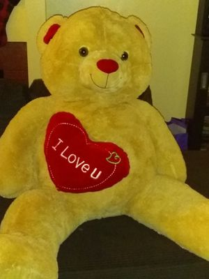 Big Teddy for Valentine's Day for Sale in San Bernardino, CA