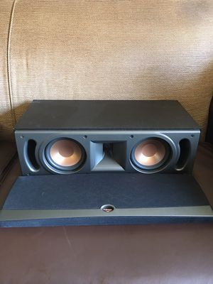 KLIPSCH RC-52 RC52 Ref IV Center Channel Speaker Black Color for Sale in Linthicum Heights, MD