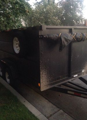 2019 dump trailer 12,000 axles for Sale in Los Angeles, CA