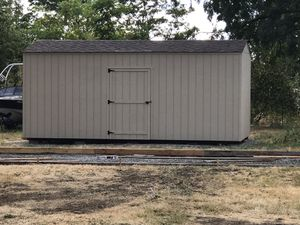 10x20 storage shed with warranty for Sale in Port Orchard, WA