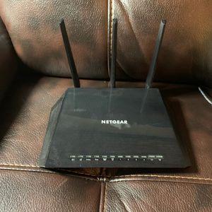 NETGEAR Nighthawk R7450 Router With NETGEAR AC1750 WiFi Mesh Extender for Sale in Roanoke, TX