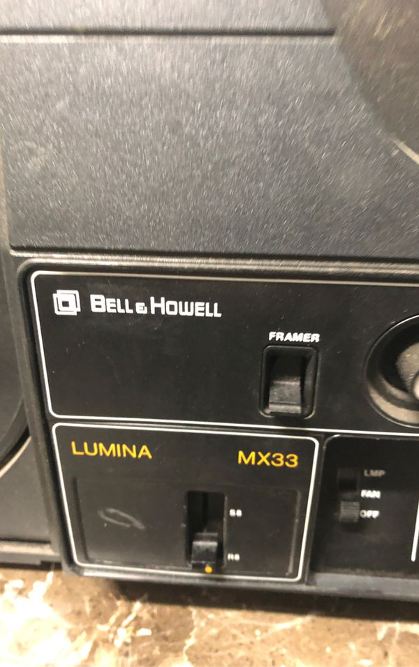Vintage Bell & Howell MX33 Film