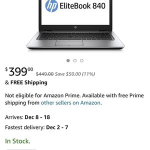 HP 840 G3 Lap Top for Sale in Downey, CA