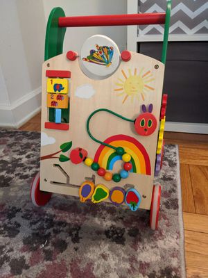 Eric Carle The Very Hungry Caterpillar Wooden Activity Walker for Sale in Queens, NY