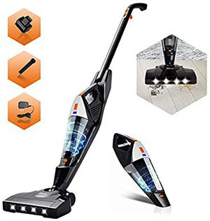 Powerful 2 in 1 Cordless Stick Vacuum with Rechargeable Lithium Ion Battery for Sale in Quincy, MA