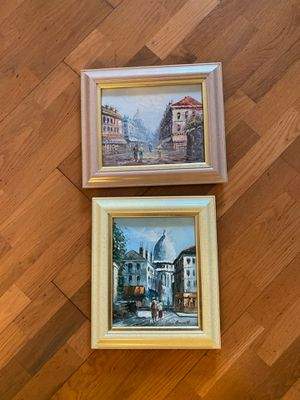 Pair of Oil Paintings for Sale in Doral, FL
