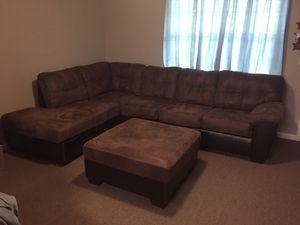 Sofa and ottoman for Sale in Lyons, GA