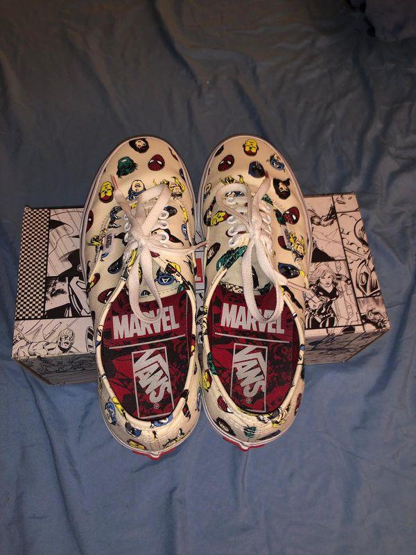 Marvel Vans Shoes