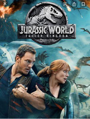 Jurassic world and Fallen Kingdom blu ray brand new for Sale in Woodinville, WA