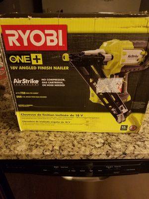RYOBI 18V 15 GAUGE NAIL GUN for Sale in Fairburn, GA