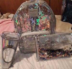 Disney Mickey Iredesant Magic Mirror backpack set by Loungefly collection for Sale in Rialto, CA
