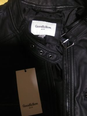 Goodfellow leather coat brand new stylish for Sale in Dallas, TX