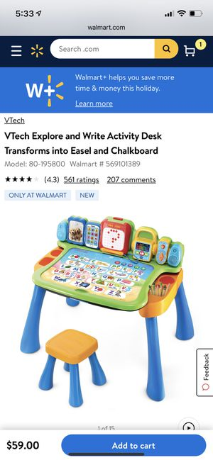 Vtech activity desk for Sale in Clearwater, FL