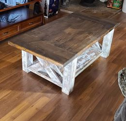 Handmade custom Rustic Farmhouse Coffee Table for Sale in Salt Lake City,  UT