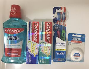 Oral care. $10 each bundle. PRICE FIRM. PICKUP ONLY. Hablo español. for Sale in Las Vegas, NV