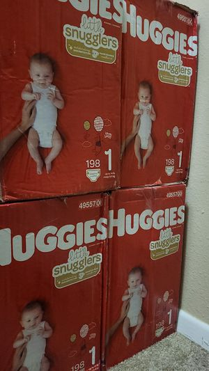 4 boxes for $115 Diapers for Sale in Phoenix, AZ
