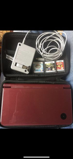 Nintendo DSi XL Red & Accessories & Games for Sale in San Francisco, CA