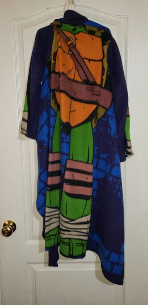Boys snuggie blanket with Longsleeves tmnt for Sale in West Jordan, UT