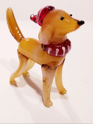 Christmas Dog Hand-Blown Glass Golden Retriever for Sale in Surprise, AZ