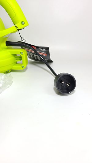 Electric Leaf Blower, Green new $46 for Sale in Las Vegas, NV