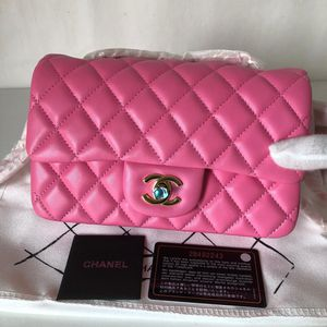 New Chanel classic mini bag hot pink for Sale in Rosemead, CA