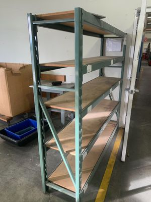 """(2) 5 tier shelving 77x18x72"""" for Sale in South San Francisco, CA"""