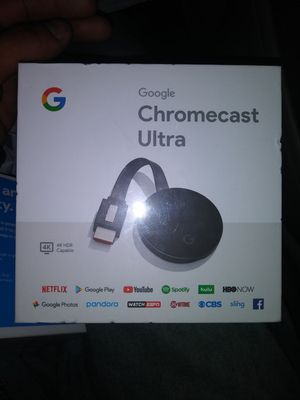 Chromecast ultra for Sale in Fairfield, CA