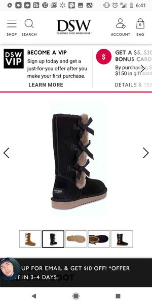 Ugg boots size 9 black for Sale in Phoenix, AZ