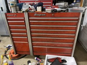 Vintage snap on tool box , ball bearing drawers. for Sale in Corona, CA