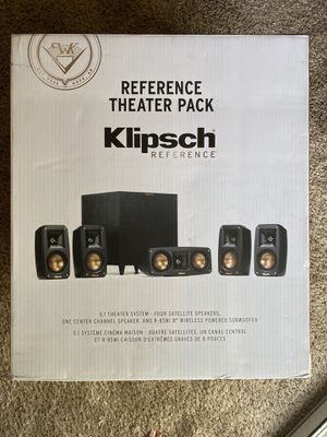 Klipsch Reference Home Theater 5.1 Surround Sound for Sale in Fresno, CA