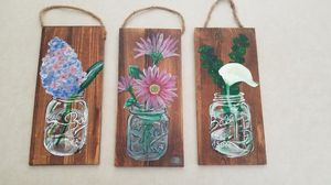 Hand painted on wood for Sale in Palmer, MA