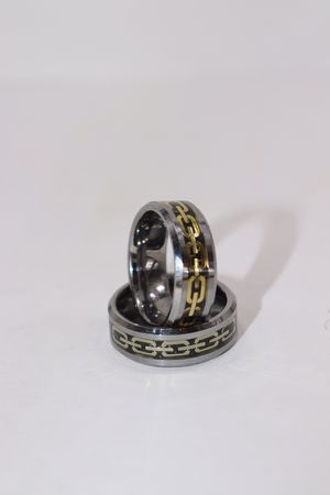 two tungsten carbide rings size 10 1/4 for Sale in Hyattsville, MD