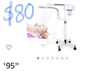 Facial steamer with magnifying light for Sale in Hesperia, CA