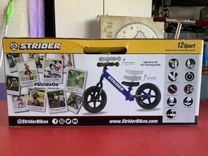 New in box Strider 12 Sport Balance Bike for Sale in Las Vegas, NV