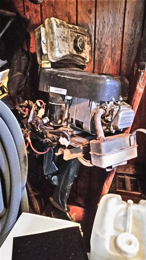 17hp boat motor with reverse and electric start for Sale in Midland, PA