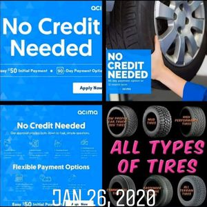 We finance!! Brand new wheels and tires for Sale in Princeton, WV