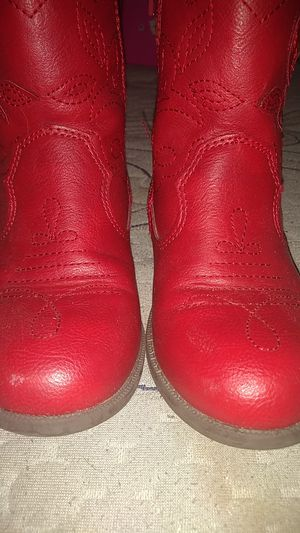 Girls cowboy boots size 12 free for Sale in Stockton, CA