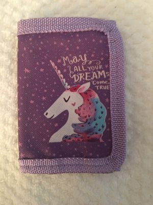 Girl wallet-3 choices to choose from-new for Sale in East Hartford, CT