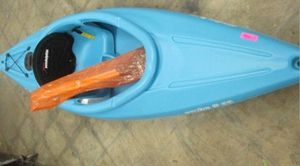Sundolphin Aruba SS Sit In Kayak With Paddle Size 8 FT Color Ocean Blue for Sale in Tempe, AZ