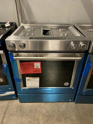 New KitchenAid Duel Fuel Downdraft Range 1yr Manufacturers Warranty for Sale in Gilbert, AZ