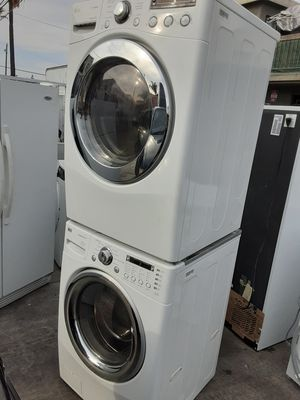 LG WASHER AND DRYER SETFRONTLOADERS for Sale in La Habra Heights, CA